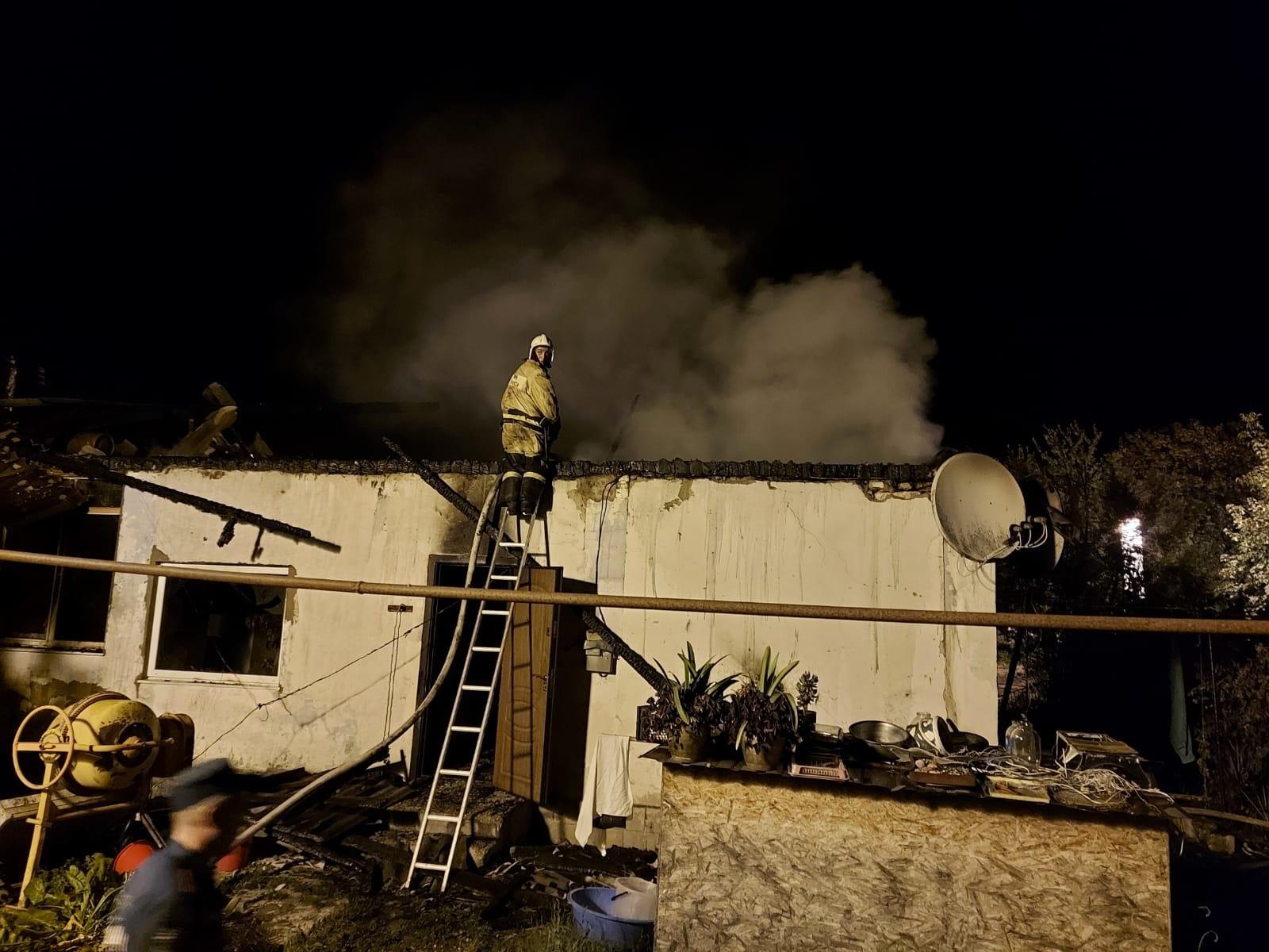 Пожар в с. Новоульяновка Бахчисарайского района ликвидирован