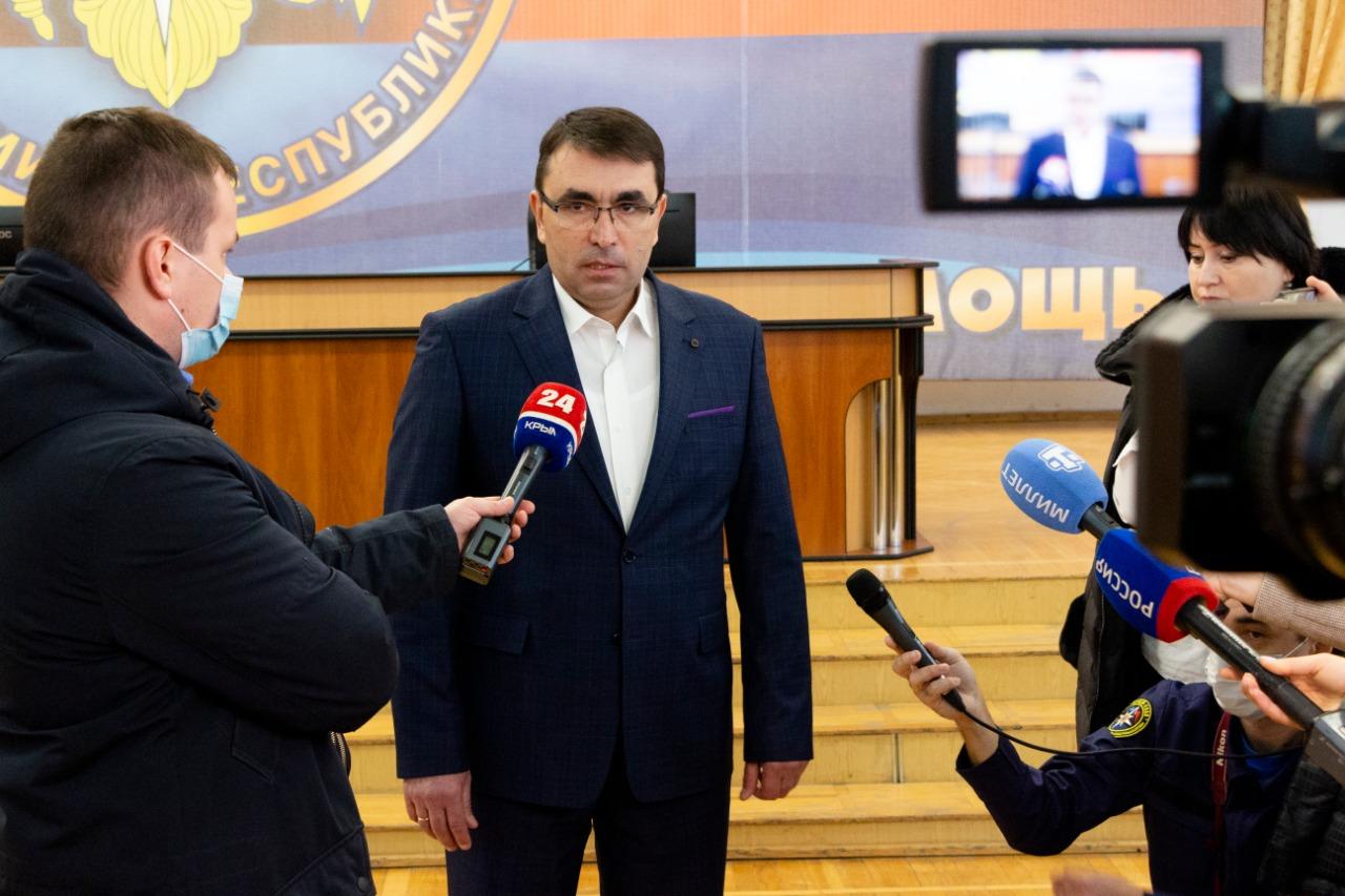 Назначен новый министр чрезвычайных ситуаций Республики Крым - Новости - Главное управление МЧС России по Республике Крым